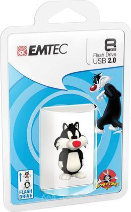 EMTEC USB Key 8GB L. TUNES Silvestro