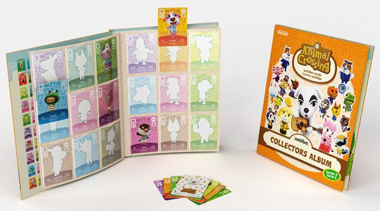 Amiibo Album Carte Animal Crossing Vol.2
