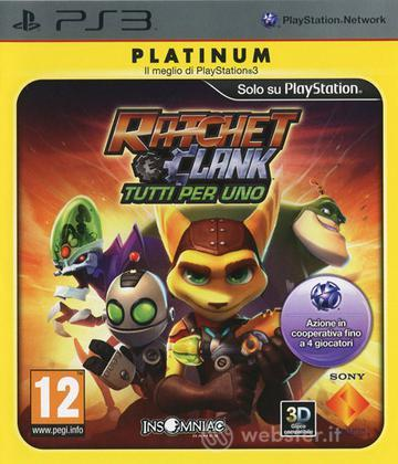Ratchet & Clank: Tutti per uno PLT
