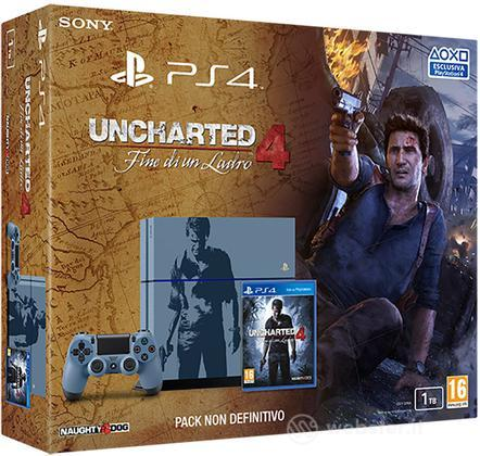 Playstation 4 1TB Uncharted 4 Limited Ed