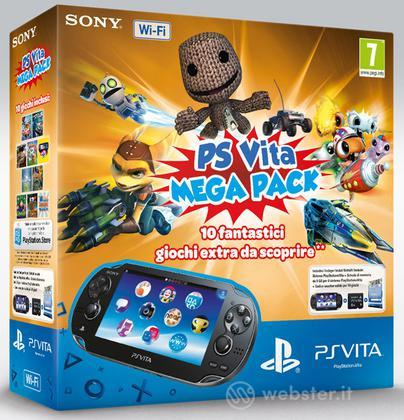 PS Vita WiFi+Mem.Card 8GB+MegaPack Vouch