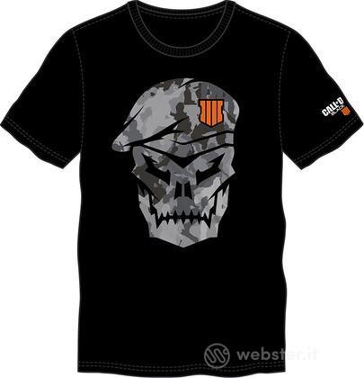 T-Shirt COD Black OPS IIII-Teschio Tg.L