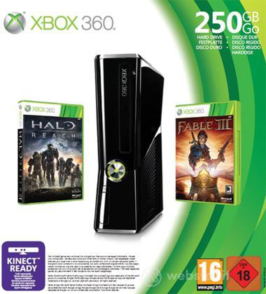 XBOX 360 250GB - Spring Value Bundle