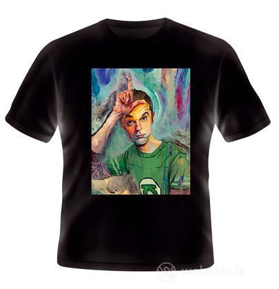 T-Shirt Big Bang Theory Sheldon Loser M