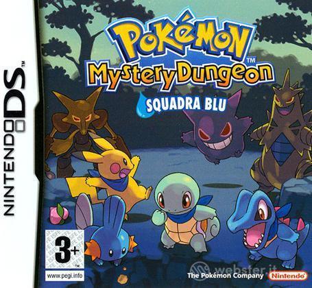 Pokemon Mystery Dungeon Squadra Blu