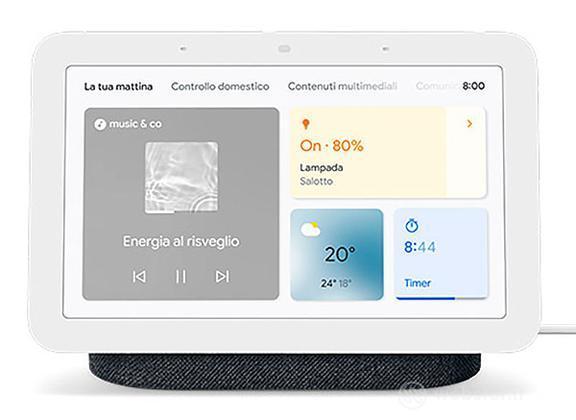 Google Nest Hub 2 Charcoal