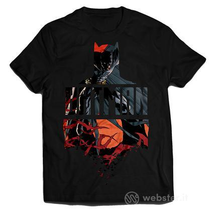 T-Shirt Red Batman M