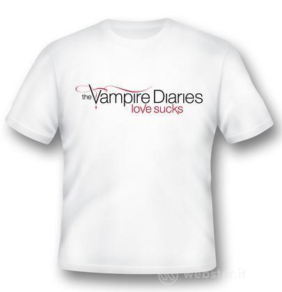 T-Shirt Vampire Diaries Love Sucks XXL