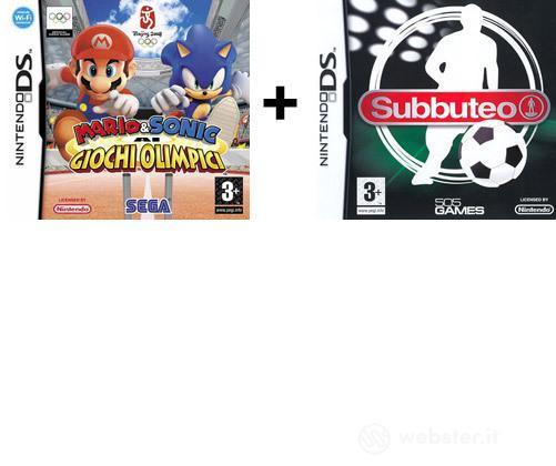 Mario & Sonic Alle Olimpiadi + Subbuteo