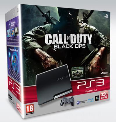 Playstation 3 320 GB + COD Black Ops