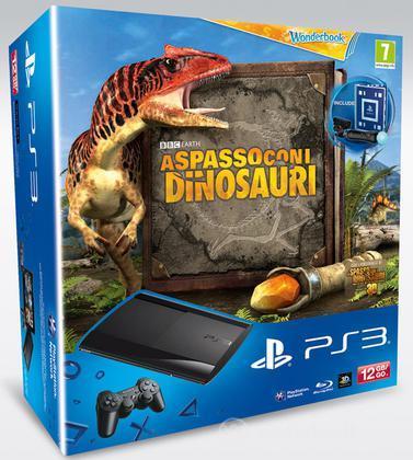 Playstation 3 12GB+A Spasso Dinos+MoveSP