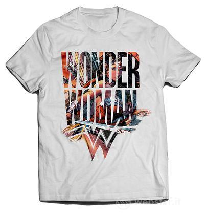 T-Shirt Wonder Woman Symbol XS