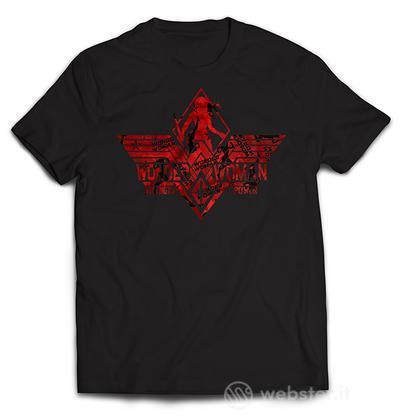 T-Shirt Wonder Woman New Logo L