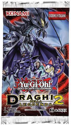 Yu-Gi-Oh! Draghi della Leggenda 2 busta
