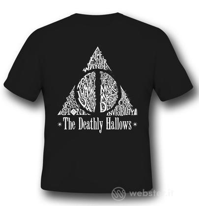 T-Shirt Harry Potter Deathly Hallows S