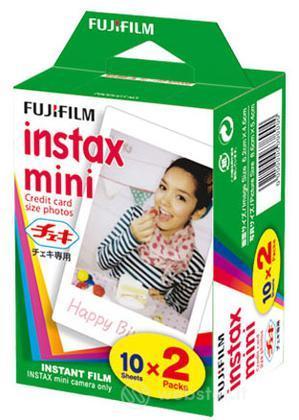 FUJIFILM Pellicole Instax MINI 20 Fogli