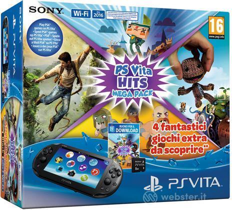Ps Vita 2016 + Mega Pack Hits