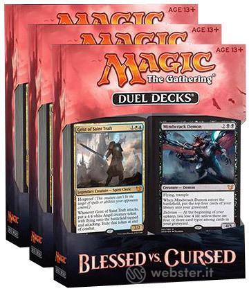 Magic Blessed vs Cursed Duel Decks UK