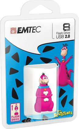 EMTEC USB Key 8GB HANNA-BARBERA Dino 3D
