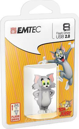 EMTEC USB Key 8GB HANNA-BARBERA Tom 3D