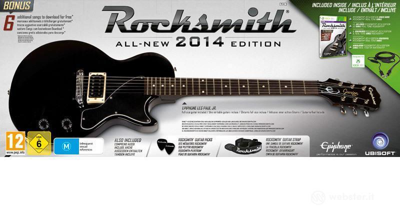 Rocksmith 2 bundle chitarra Ephiphone