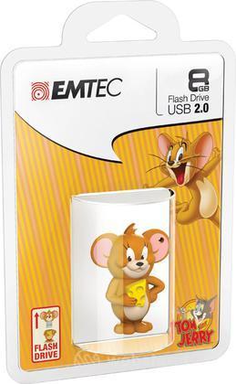 EMTEC USB Key 8GB HANNA-BARBERA Jerry 3D