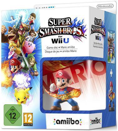 Super Smash Bros. + Amiibo Mario