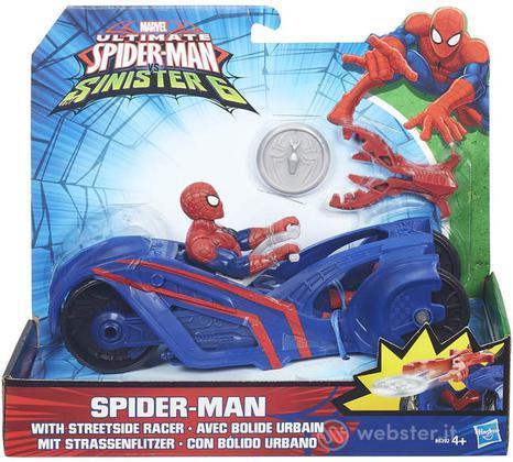 Figure Marvel Spiderman+Streetside Racer