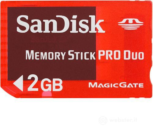 Sandisk Memory Stick Pro Duo Gaming 2GB