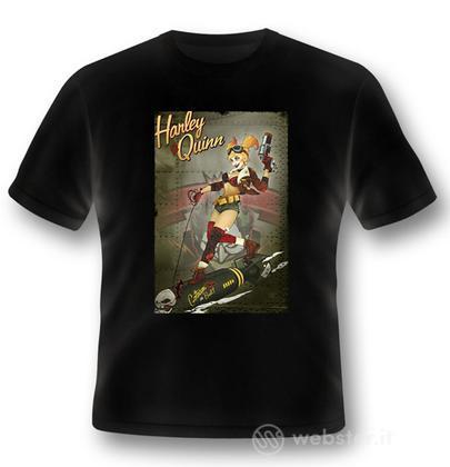 T-Shirt Harley Quinn Bomb M