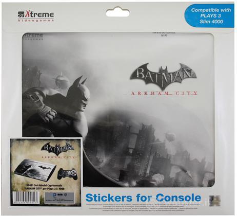 Stickers Batman A.City Mod. 4 PS3 Slim