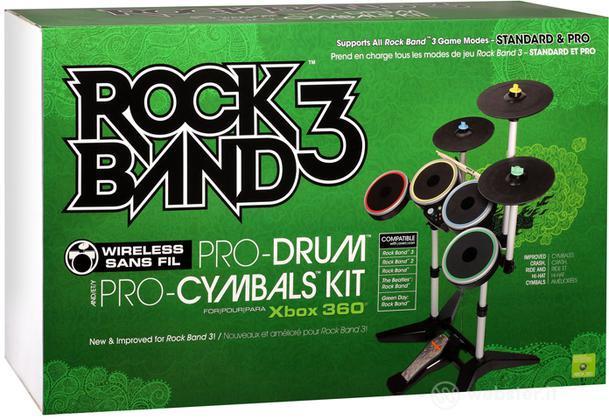 MAD CATZ X360 Wrlss Drum-Cymbals Rock B3