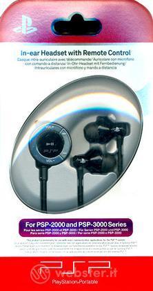 PSP Sony In-Ear Headset + Telecom. Dist.