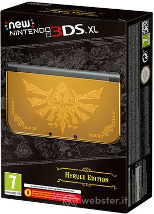 Nintendo New 3DS XL Hyrule Gold Ed.