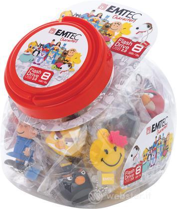 EMTEC USB Key 8GB 3D Candy Jar