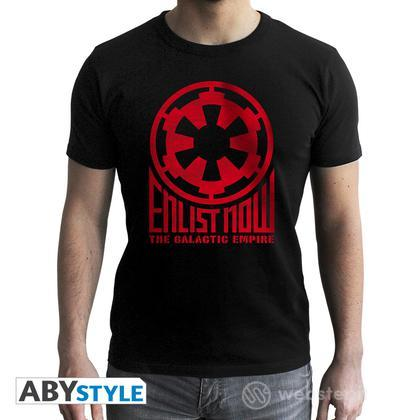 T-Shirt Star Wars - Enlist Now Empire M