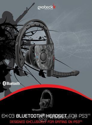 Cuffie Bluetooth EX-03  PS3