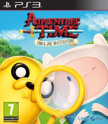 Adventure Time Finn & Jake Investigation