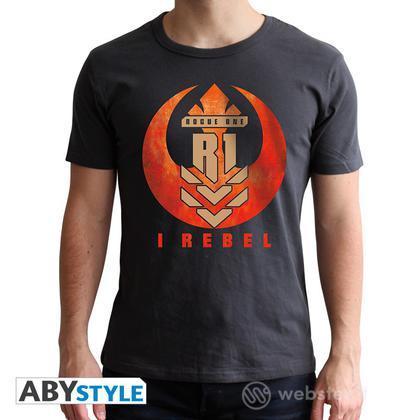 T-Shirt Star Wars - I Rebel M