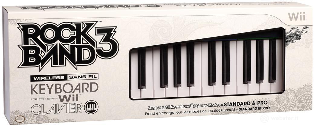 MAD CATZ WII Wrlss Keyboard Rock Band 3