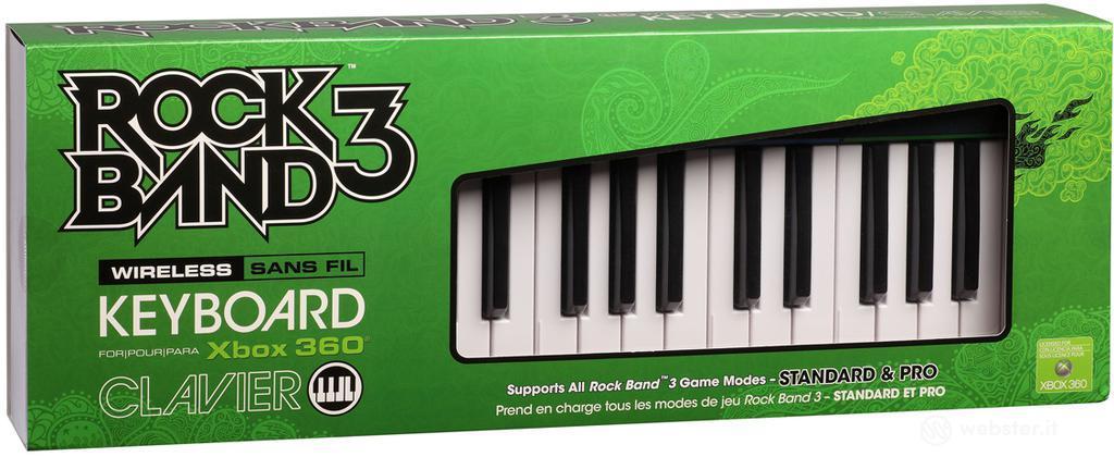 MAD CATZ X360 Wrlss Keyboard Rock Band 3