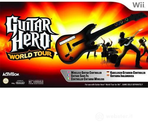 WII Guitar Hero World Tour Stand. Guitar