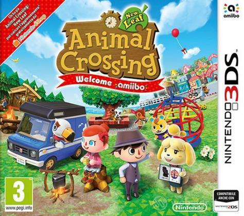 Animal Crossing NL+Welcome Amiibo