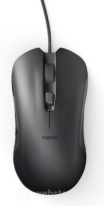 NACON Mouse Ottico 110 Nero PC