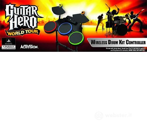 PS3 PS2 Guitar Hero World Tour Batteria