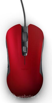 NACON Mouse Ottico 110 Rosso PC