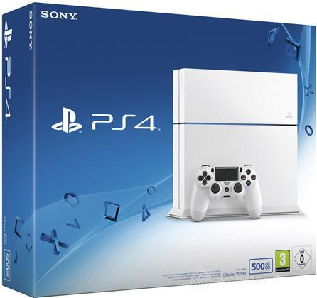 Playstation 4 500GB C Chassis White