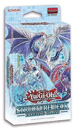 Yu-Gi-Oh! Freezing Chains 1ma Ed Deck