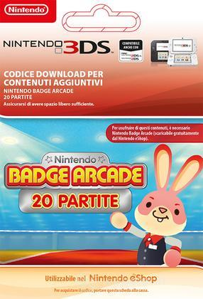 Nintendo Badge Arcade 20 plays