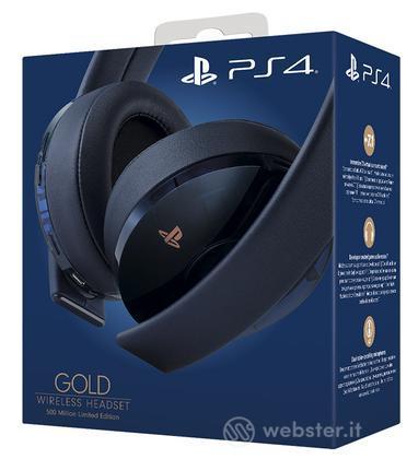 SONY Gold Wireless Headset - 500M Ltd Ed
